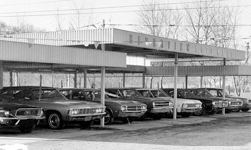 1972 Car Lot