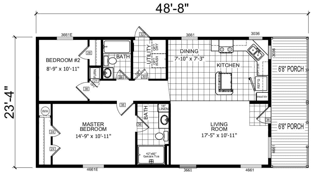 Atlantic ESDB24201 Floor Plan New Alex