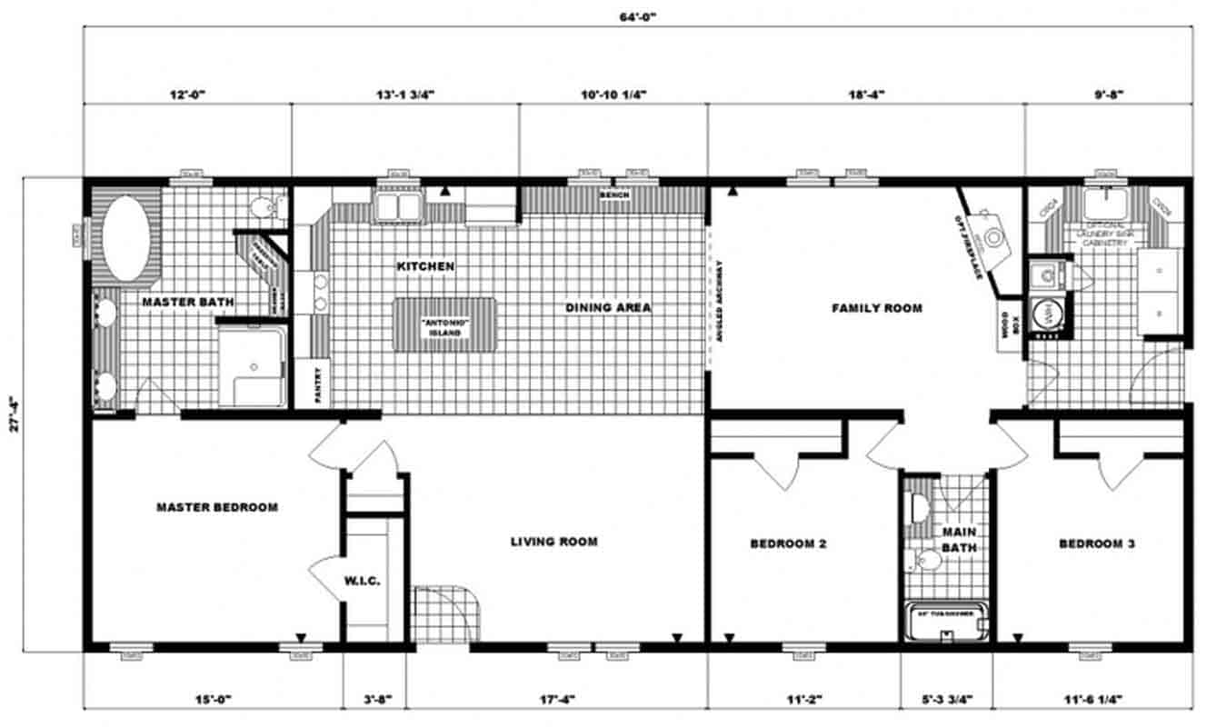 Pleasant Valley G3653 Floor Plan Prospect
