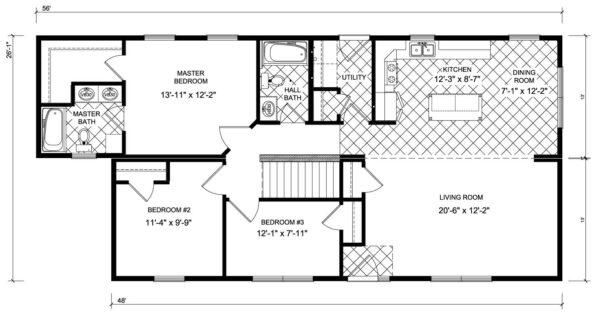 New Image Franklin Floor Plan Prospect