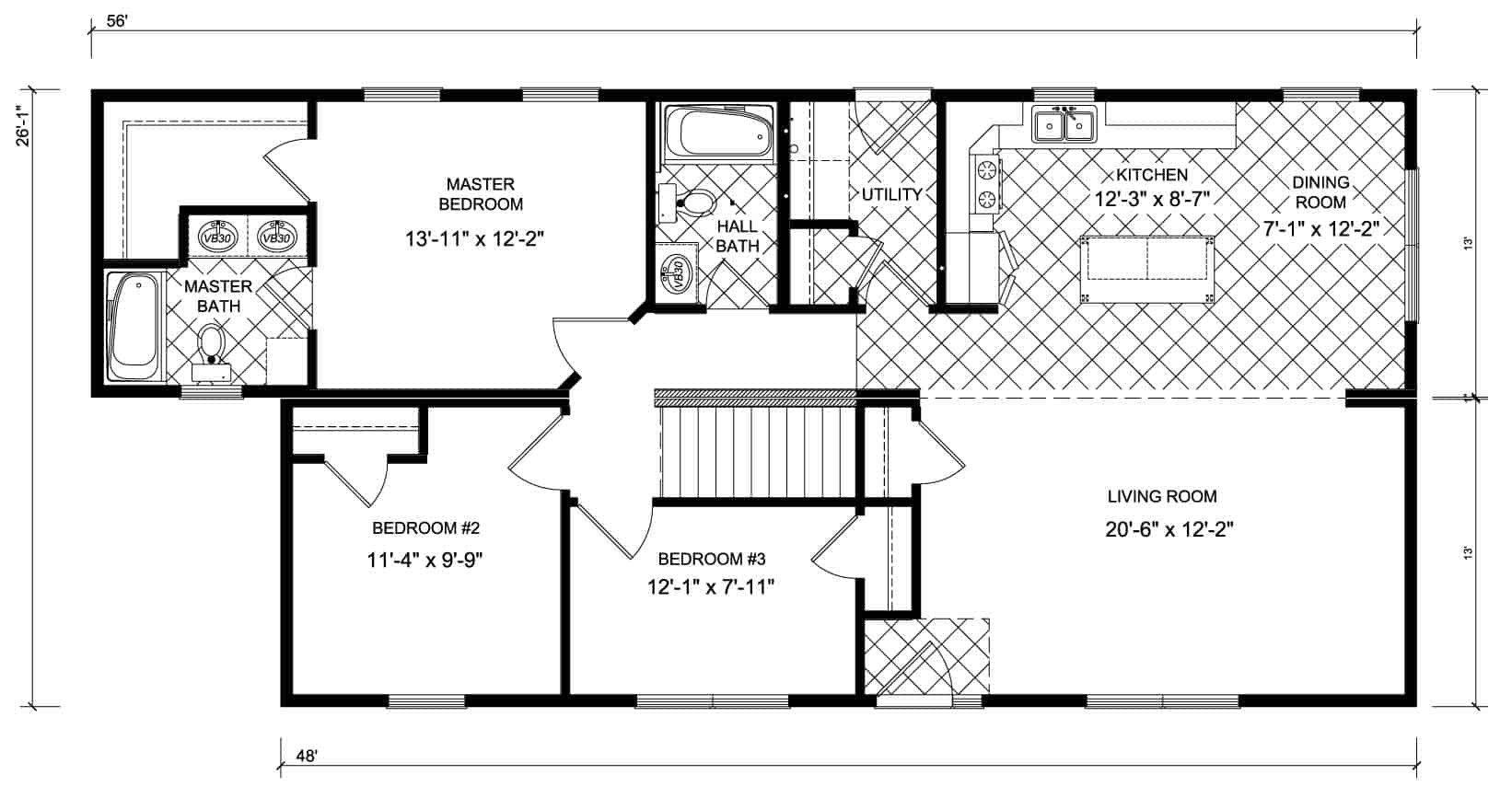 New Image Franklin Floor Plan Prospect