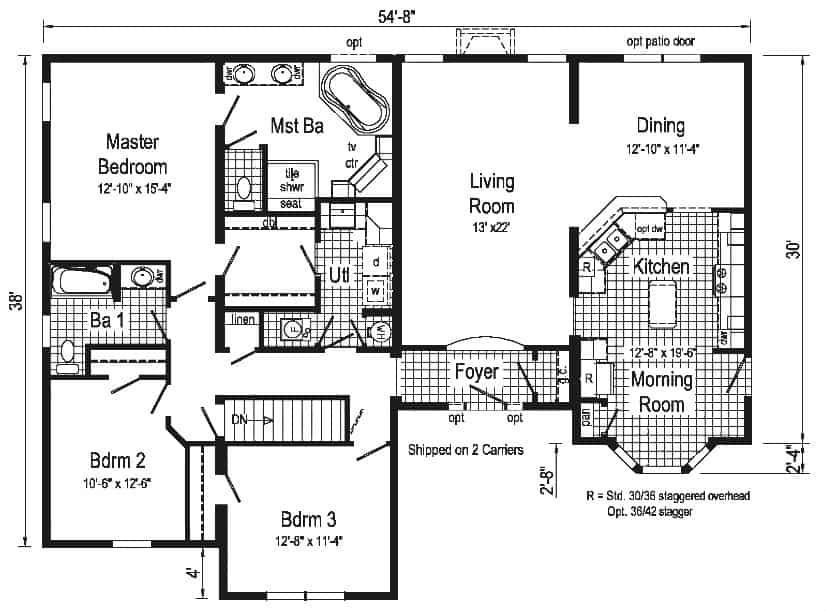 Pennwest Chandler Floor Plan Vandergrift