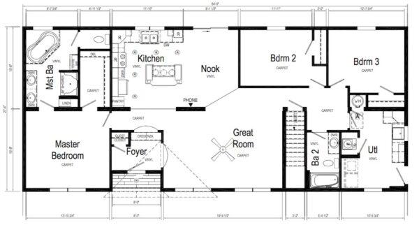 Pennwest Danbury Floor Plan New Alex