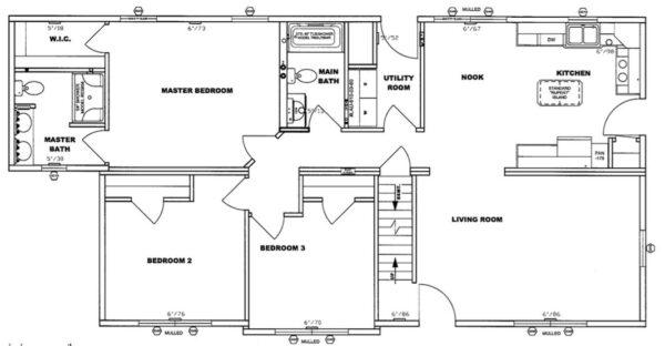Pleasant Valley Cape Chadsford Floor Plan Greensburg