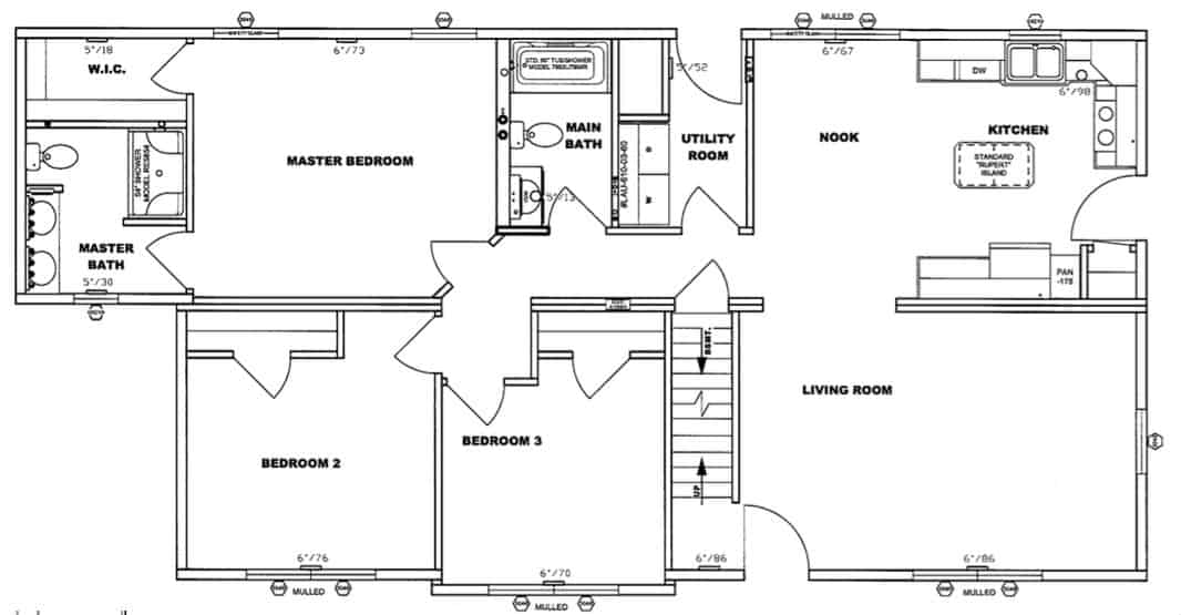 Pleasant Valley Cape Chadsford Floor Plan Greensburg
