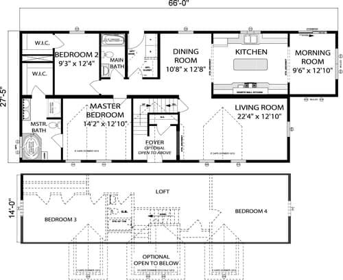 Pleasant Valley Cape Henery Floor Plan Vandergrift