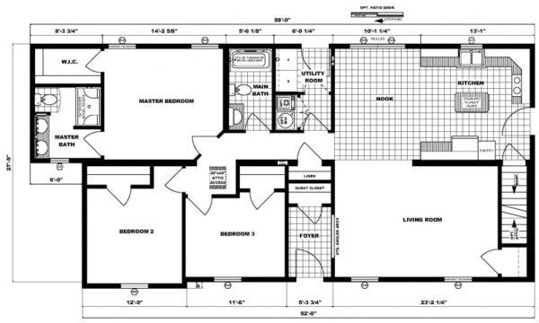 Pleasant Valley Cape Nemacolin Floor Plan Carmichaels
