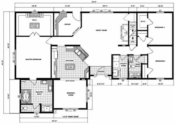Pleasant Valley Richfield Floor Plan Greensburg