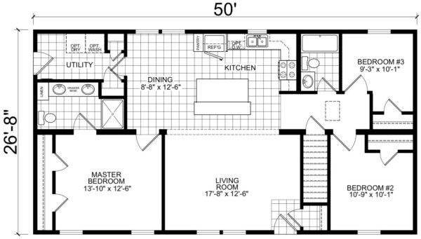 Atlantic ICMA95075 Floor Plan Prospect