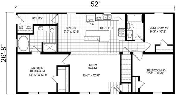 Atlantic ICMA95252 Floor Plan Vandergrift