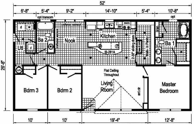 Commodore 3A2803P Floor Plan Vandergrift