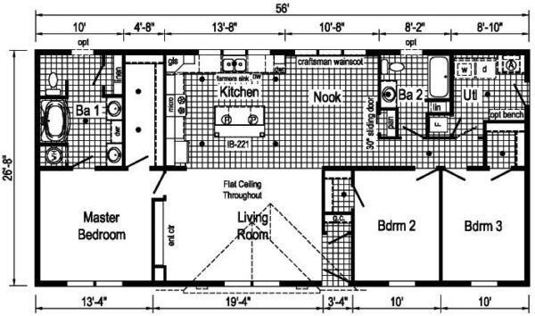 Commodore 3A2804P Floor Plan Greensburg