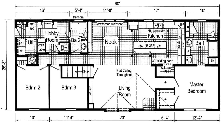 Commodore 3AM2805P Floor Plan Prospect