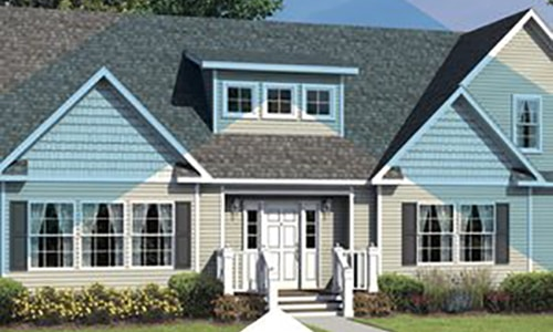 Picture of a Home from a Brochure