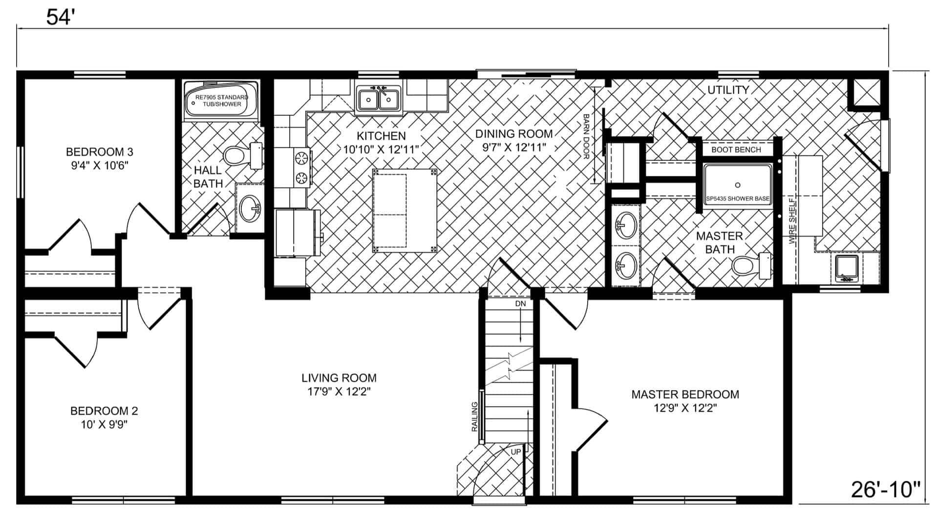 New Image NI127 Floor Plan Prospect