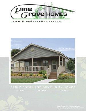 Pine Grove Gable Entry