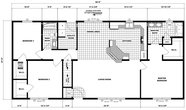 Pleasant Valley Brighton IIA Floor Plan Butler