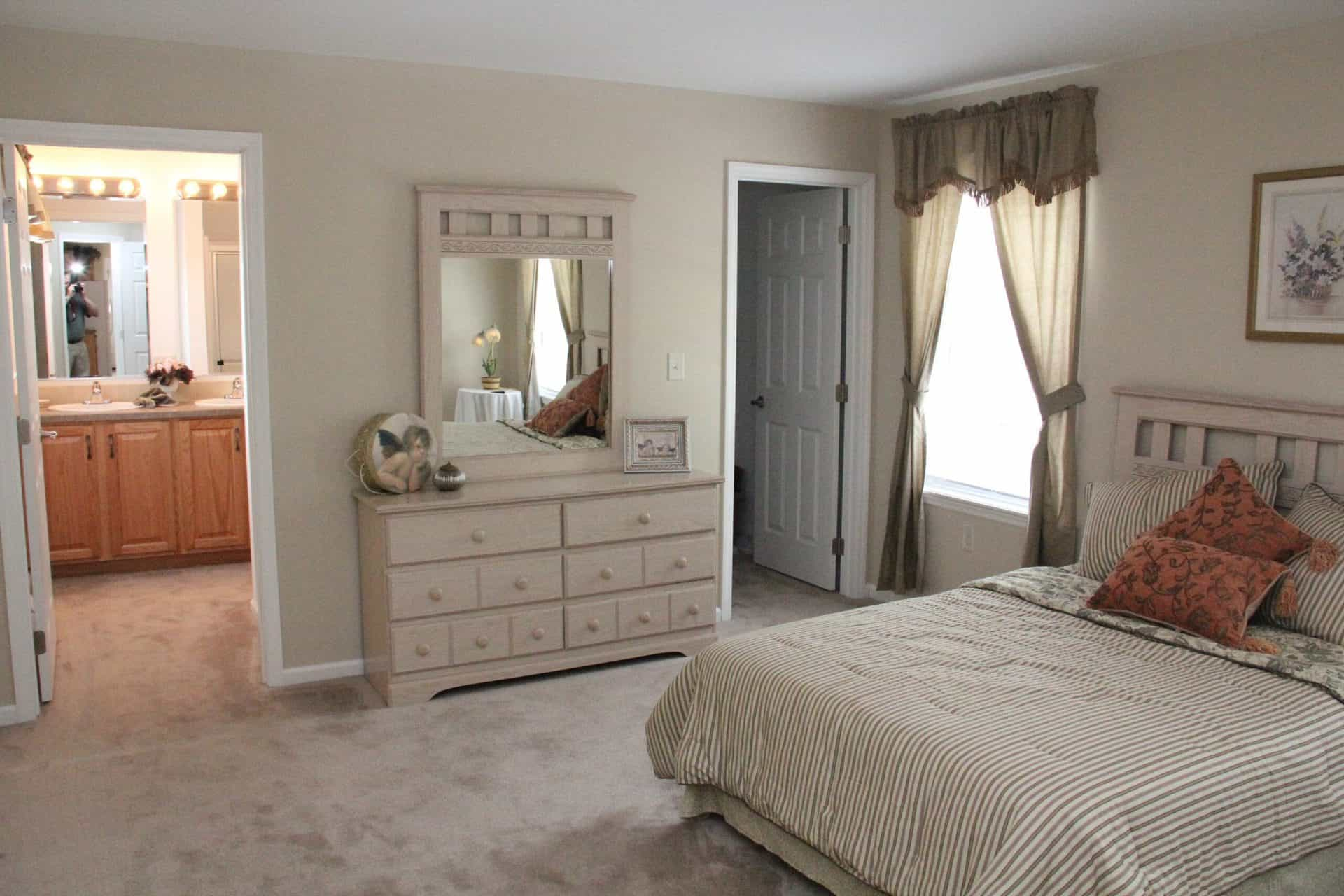 Pleasant Valley Cape Chadsford Master Bedroom Greensburg