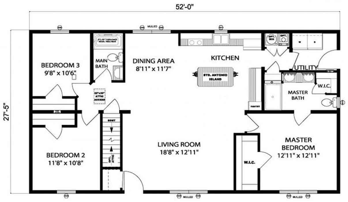 Pleasant Valley Edgewood C Floor Plan Vandergrift