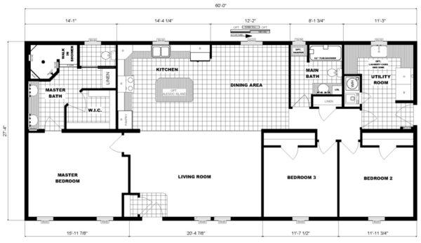Pleasant Valley G-3564 Floor Plan New Alex