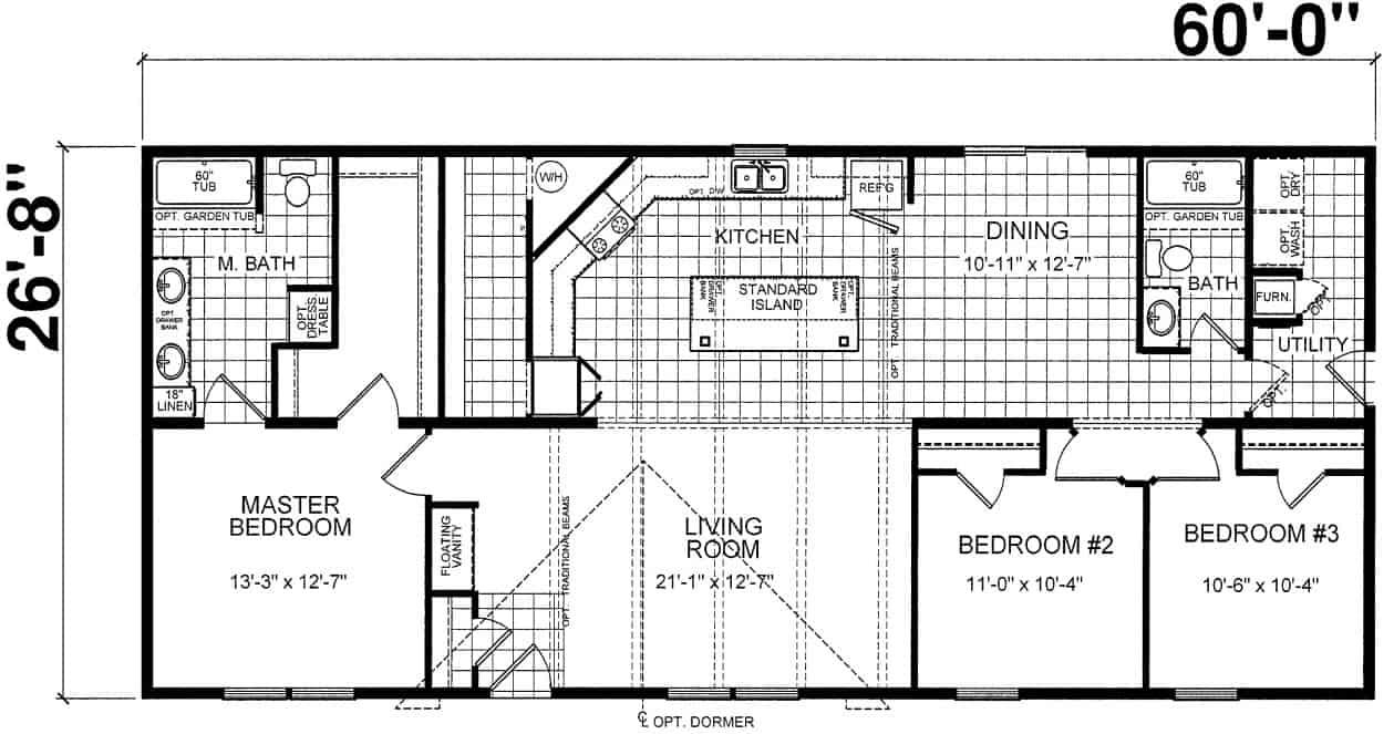 Atlantic ESD-A-26402 Floor Plan