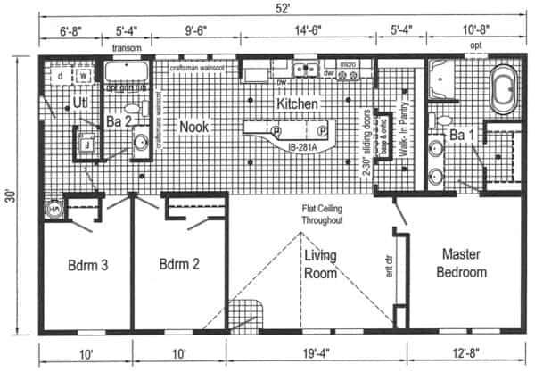 Commodore 3AM2803V Floor Plan New Alex