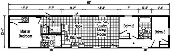 Commodore TS1003P Floor Plan Butler