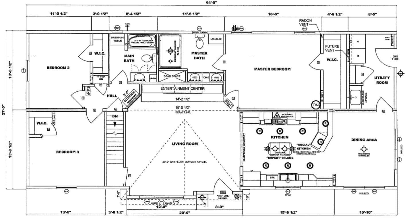 Pleasant Valley Chesapeake C Floor Plan Prospect