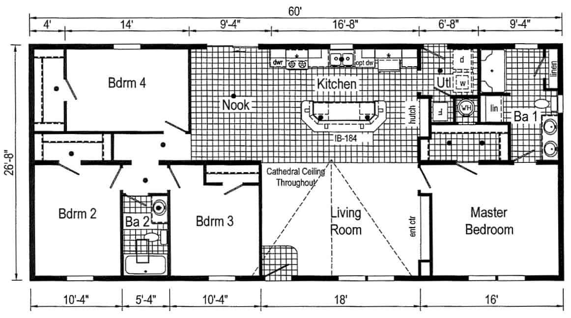 Commodore 3A2024P Floor Plan Greensburg